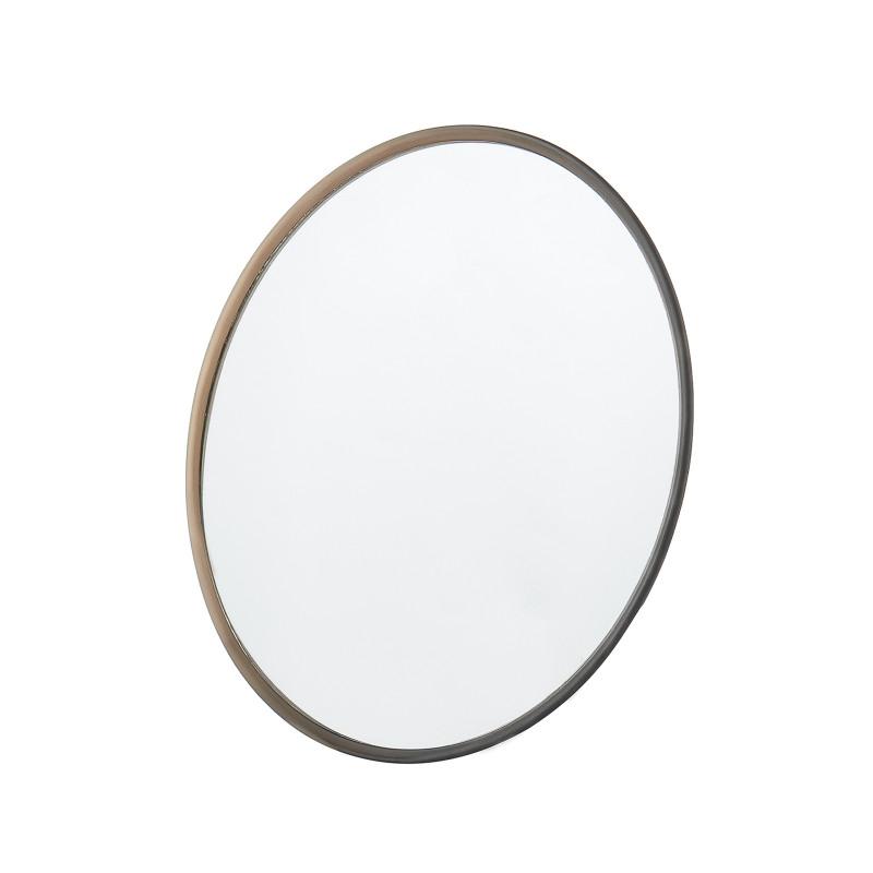 Круглое зеркало для парикмахера