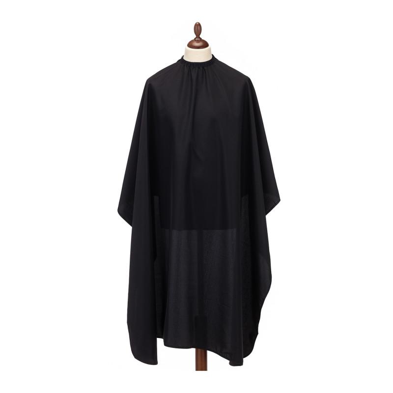 Накидка-пеньюар черного цвета повышенной плотности