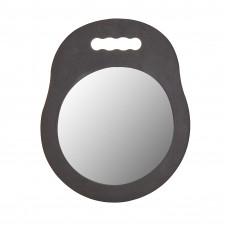 Зеркало барбера круглое