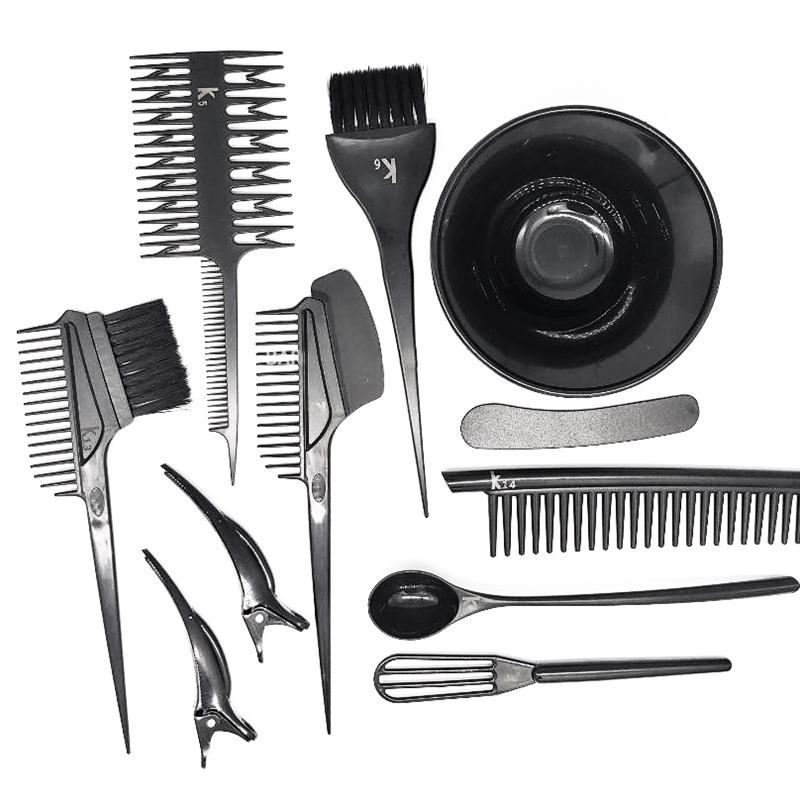 Набор инструментов для окрашивания черный