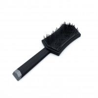 Расчёска массажная черная для укладки
