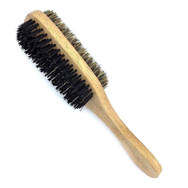 Щетка для бороды с двумя видами щетины, 230 мм