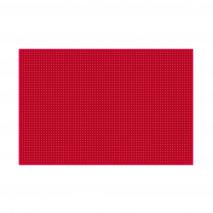 Красный коврик 45х30 см для инструментов
