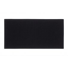 Черный коврик для инструментов 30х15 см